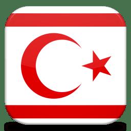 Bandeira do Norte do Chipre