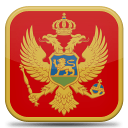 Bandeira da Montenegro