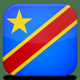 Bandeira Republica Democratica do Congo