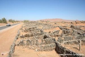 Tirar fotografias perto do deserto, Fotografias Areia e Poeiras