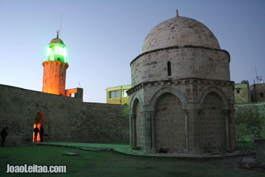 Capela Ascensão de Jesus no Monte das Oliveiras
