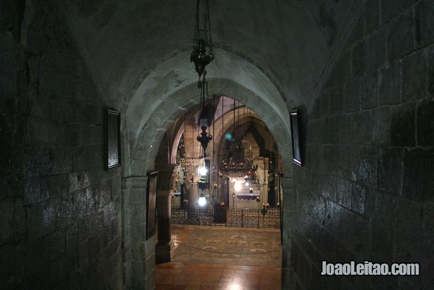 Capela de Santa Helena dentro do Santo Sepulcro