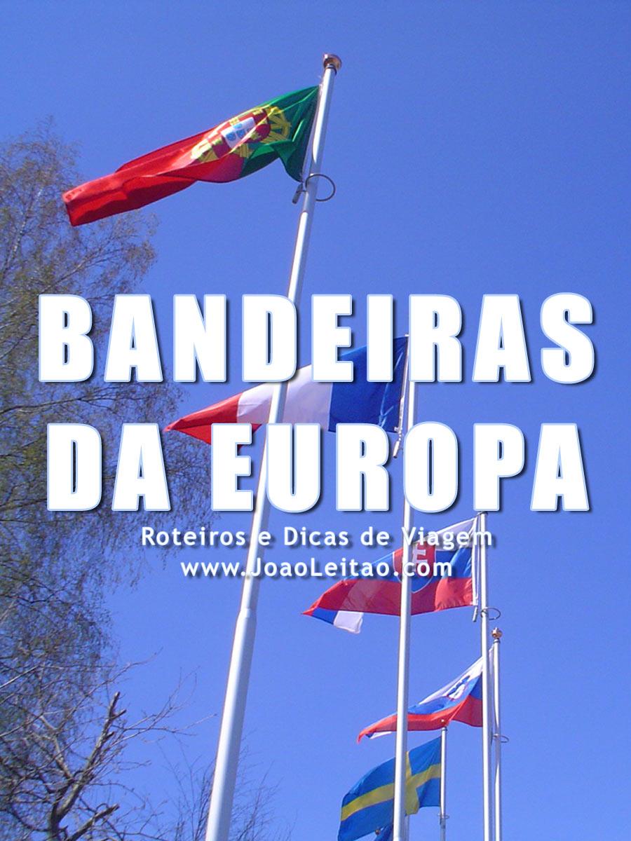 Significado das Bandeiras da Europa