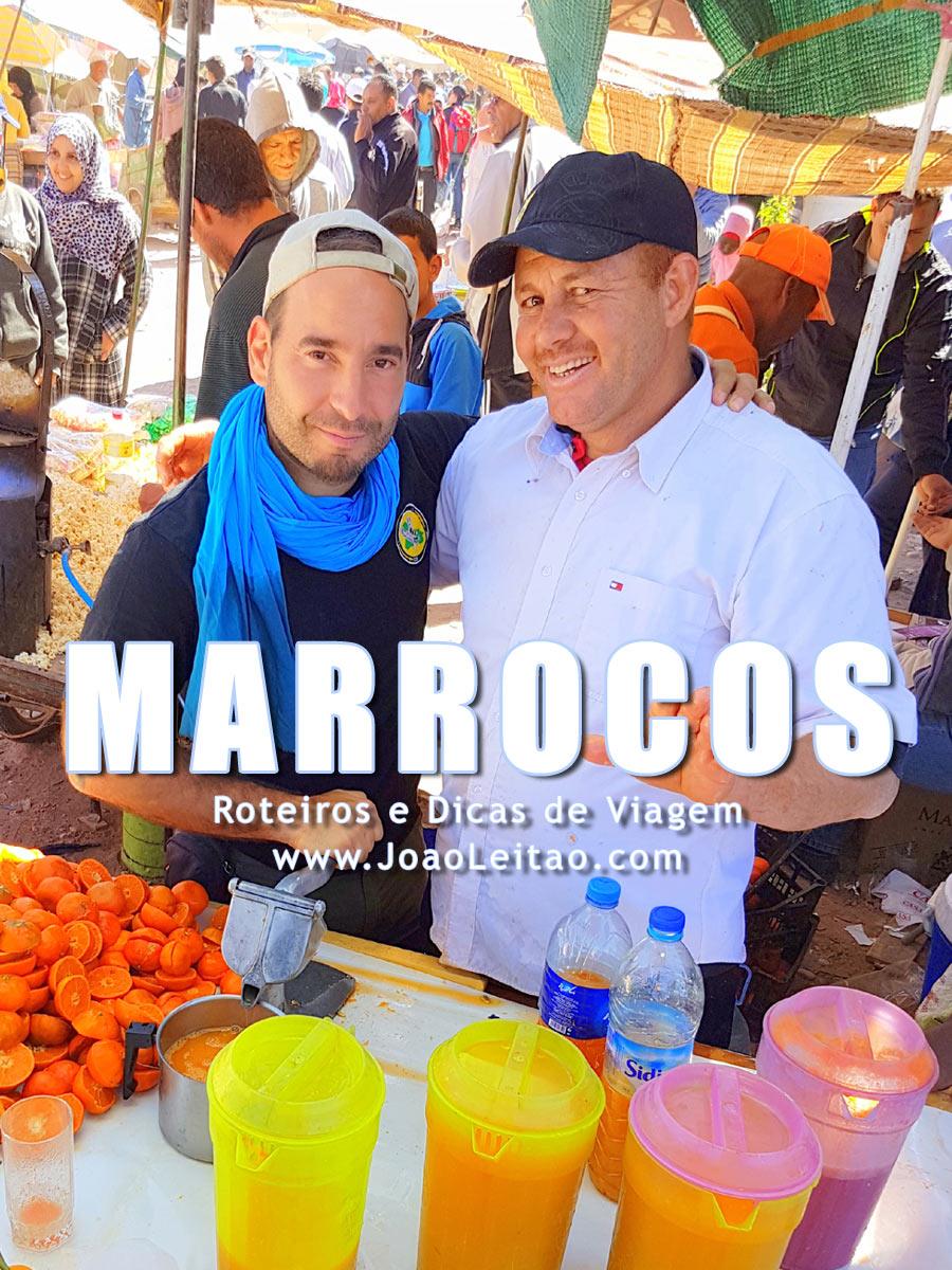 A história do João Leitão em Marrocos