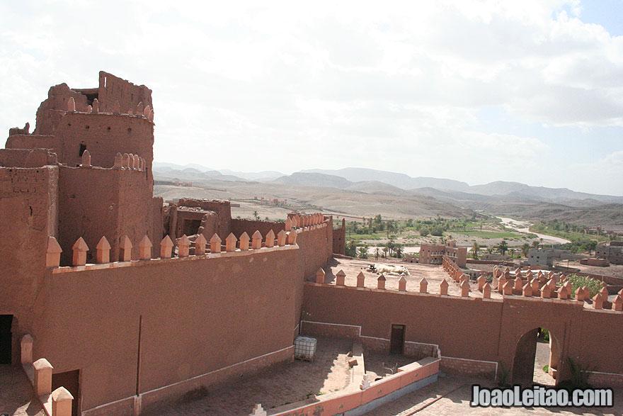 Casbá de Tifoultoute em Ouarzazate