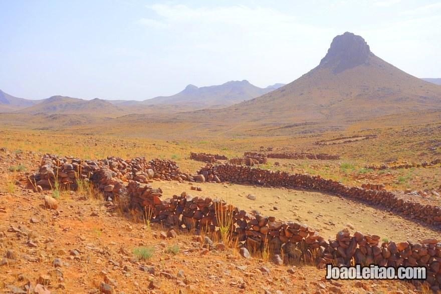 Monte Adad na região de Ouarzazate