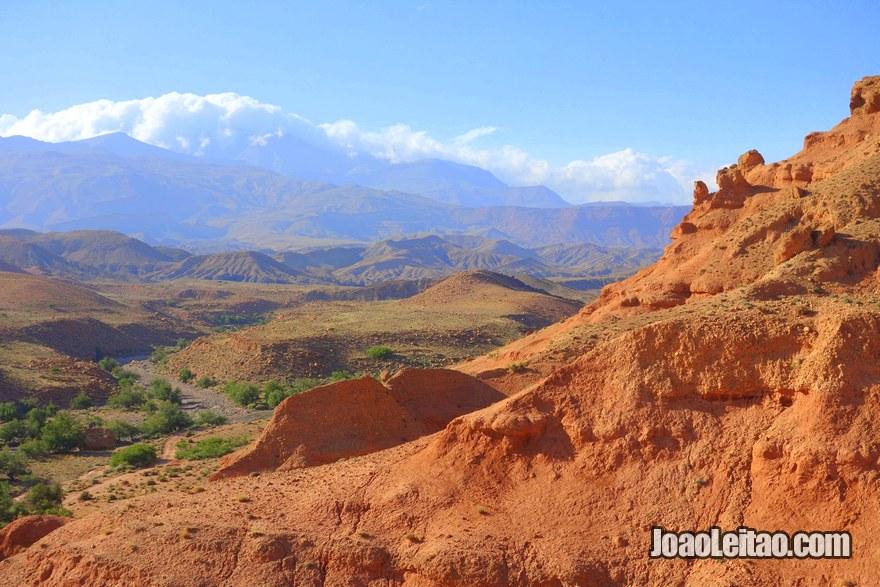Reserva Natural Iguernan na região de Ouarzazate