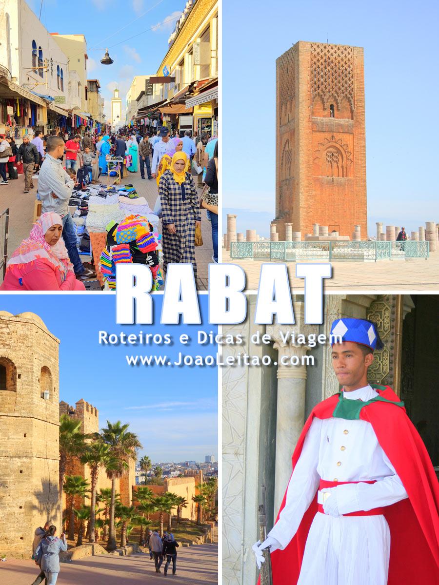 Rabat a capital de Marrocos