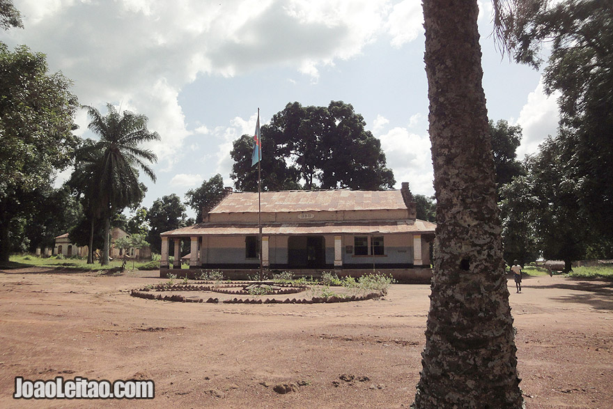 Fotografia do centro da cidade de Aba