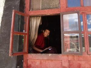 Fotografias do Mosteiro Tashilhunpo em Shigatse, Tibete China