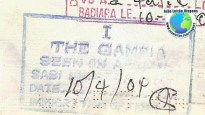 Stamp Gambia