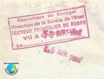 Stamp Senegal