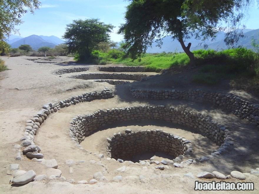 2000 year old underground irrigation system still in use