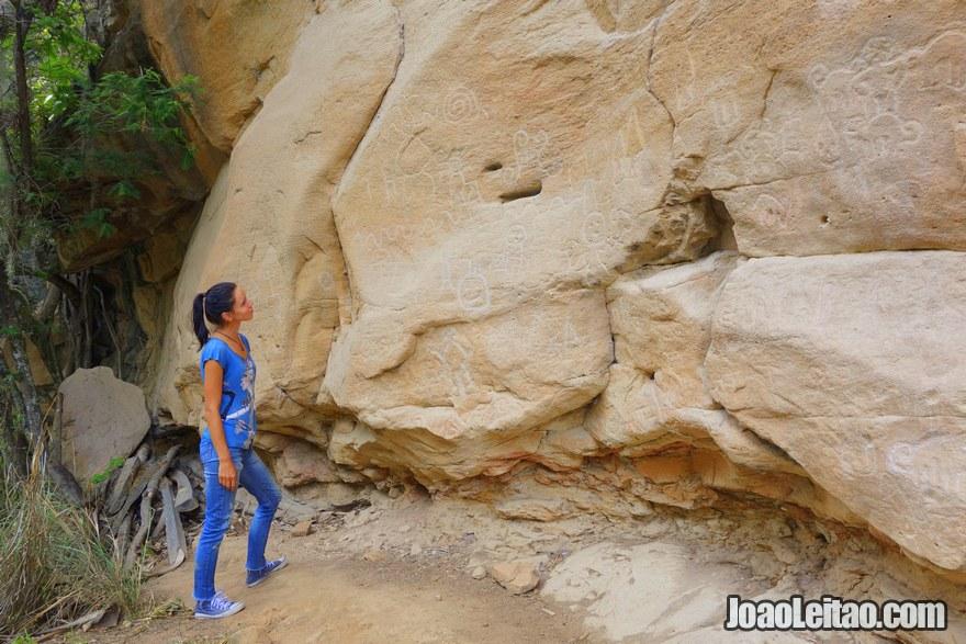 Petroglyphs of Pitaya Peru
