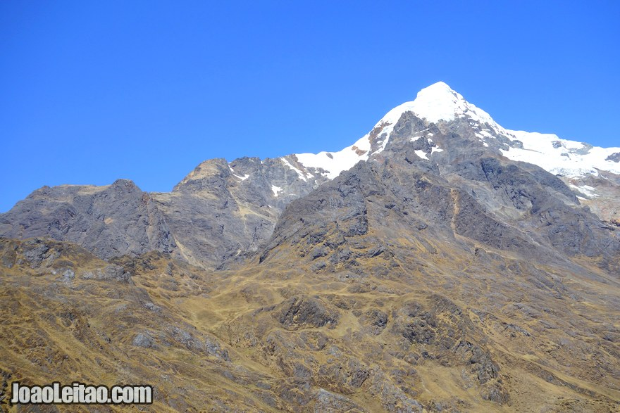 Nevado Verónica Mountain Peru