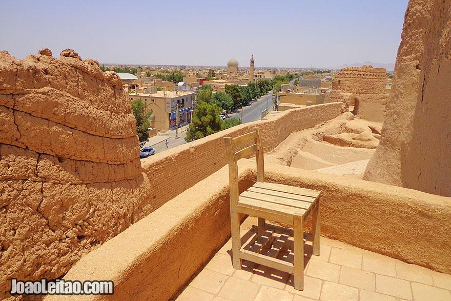 Castelo de Narein em Meybod
