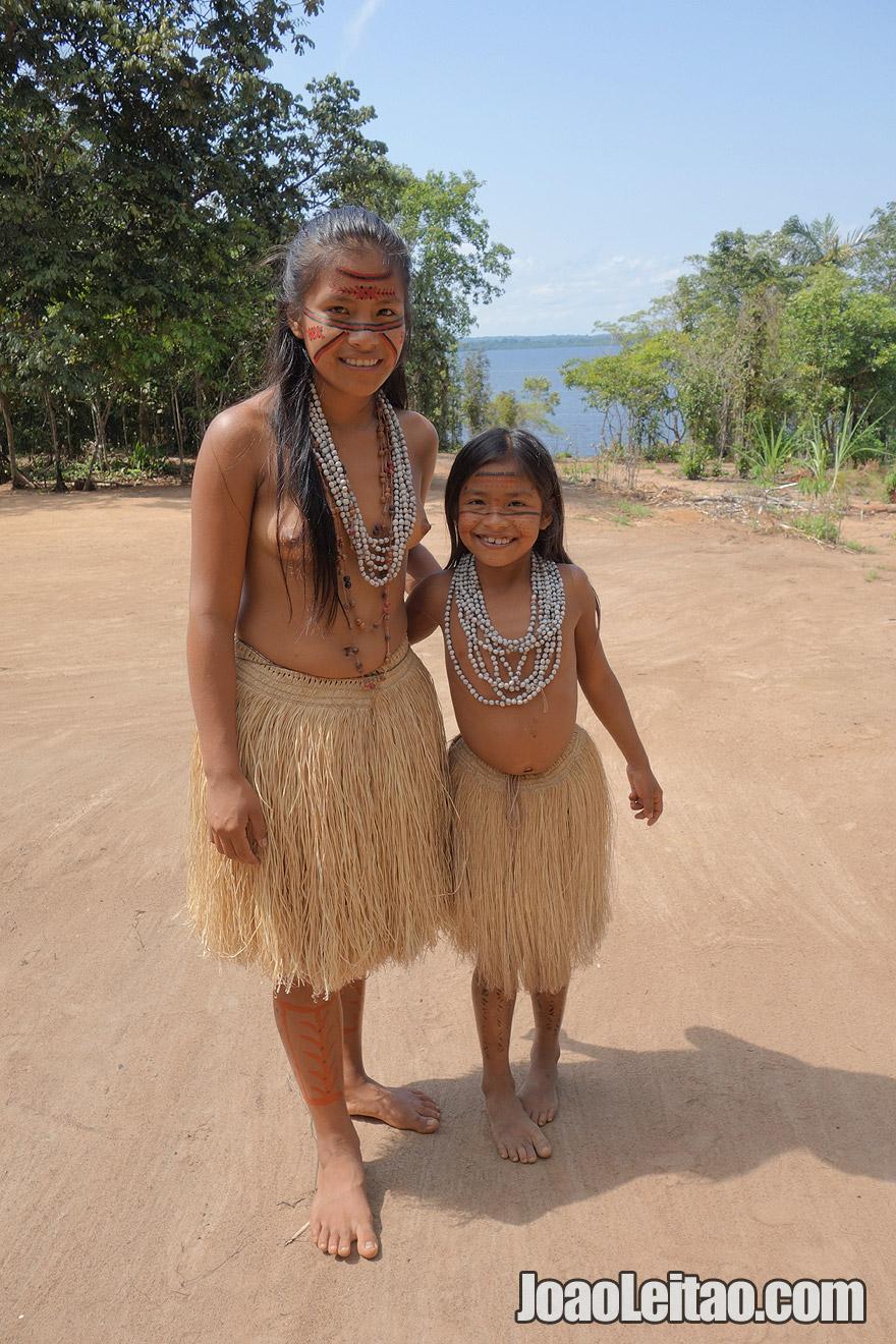 Meninas Indígenas Tatuyo