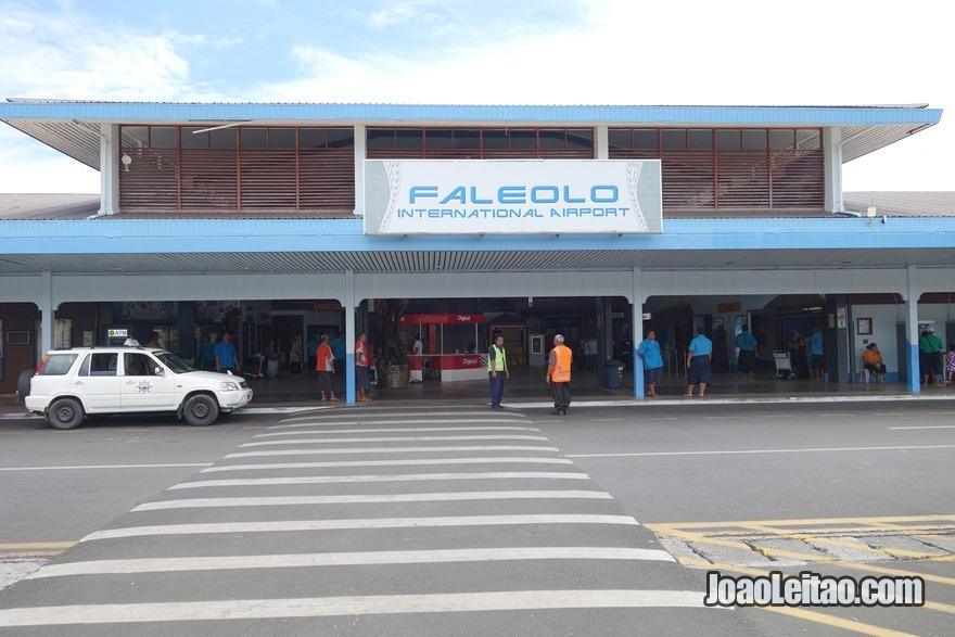 Aeroporto de Apia na Samoa