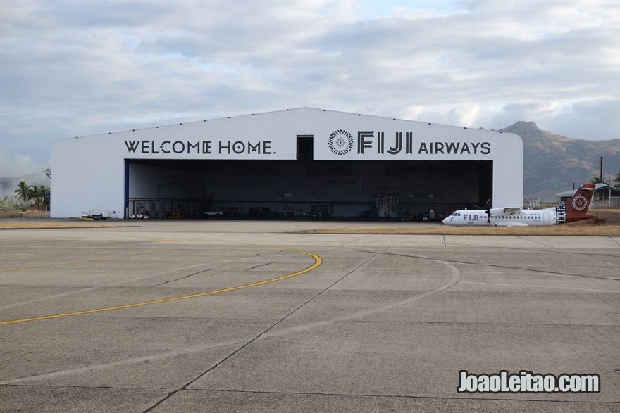 Aeroporto de Nadi nas Fiji
