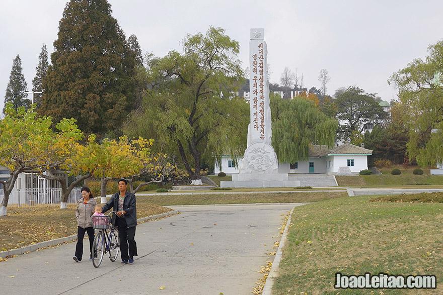A vida familiar Norte Coreana
