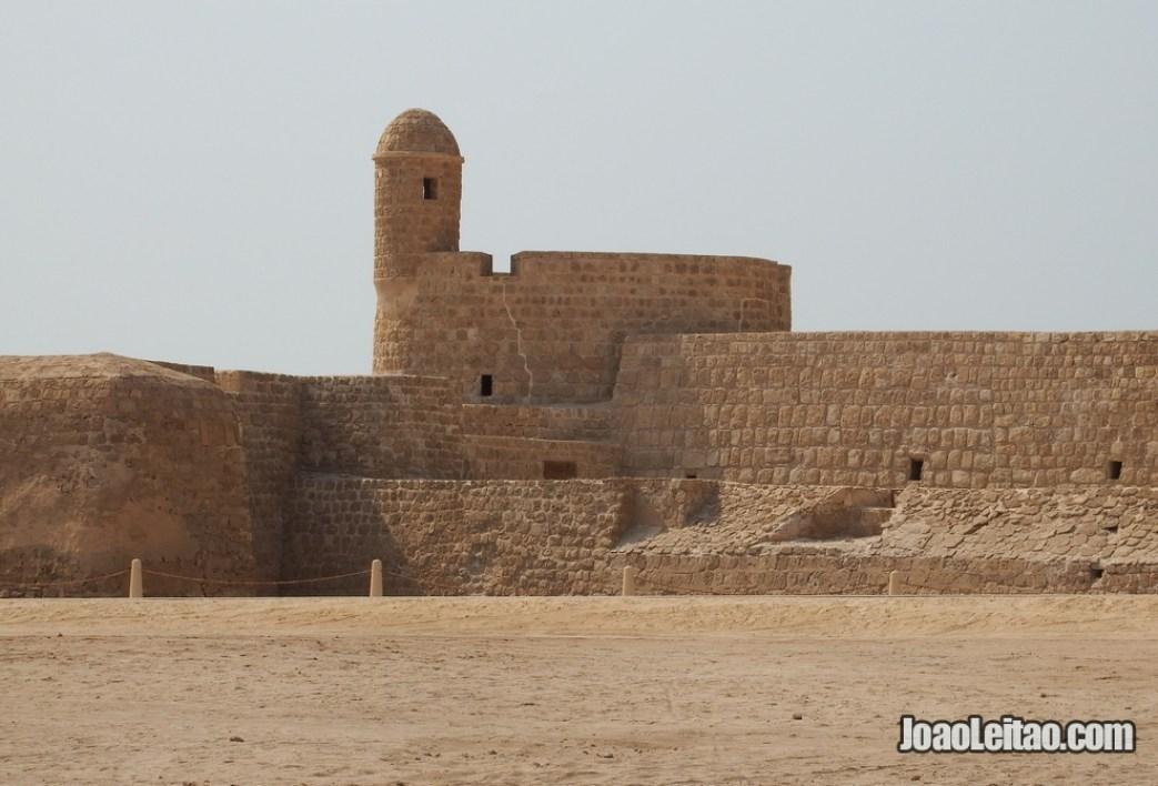 Forte português da ilha de Bahrein