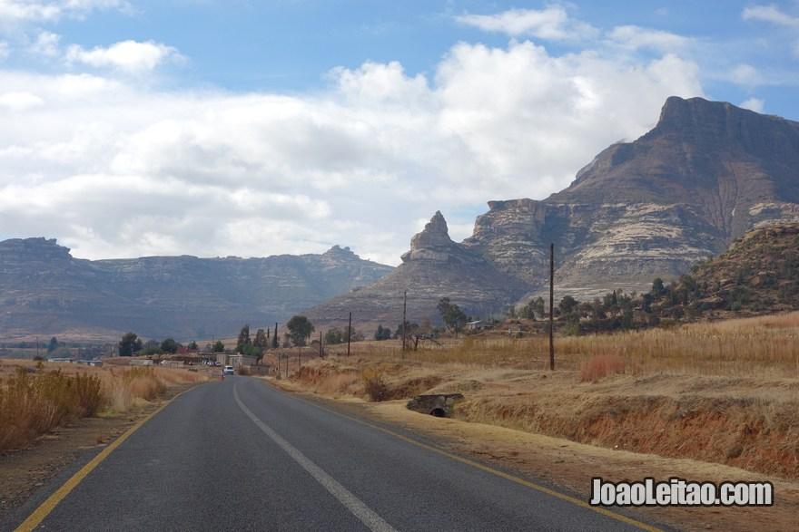 Fotos do Lesoto na África Austral