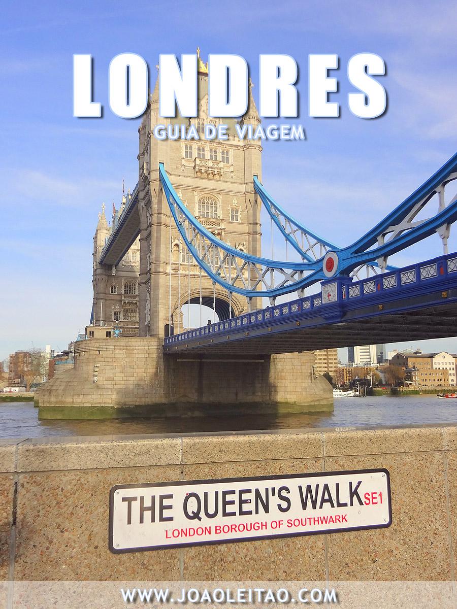 Londres - Guia de Viagem: Tudo o que precisa saber