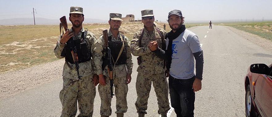 Encontro com militares afegãos