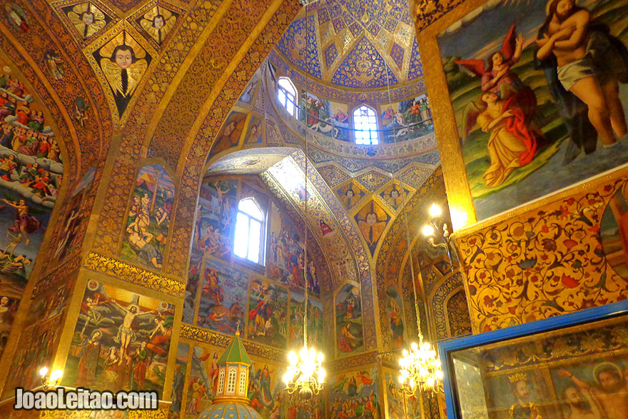 Holy Savior Christian Cathedral in Isfahan - Religion in Iran