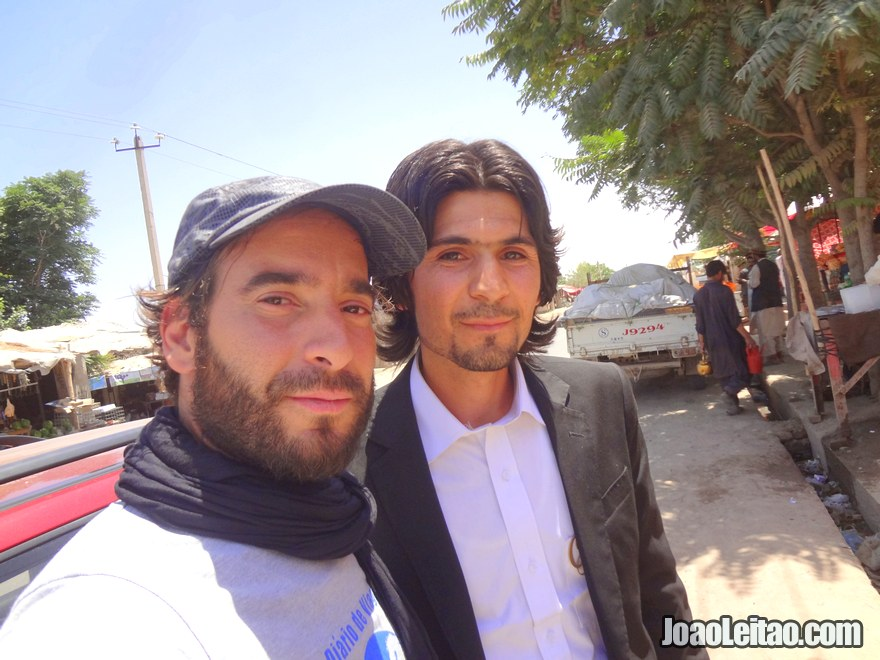 Very friendly guy that works on a bank in Kunduz, he took me to exchange money in the black market