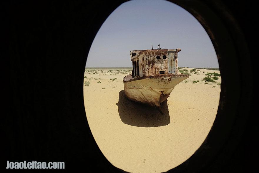 Visit Muynak Aral Sea Uzbekistan