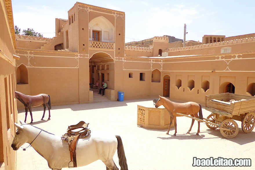 300 year old Post Office in Meybod - Places to Visit in Iran