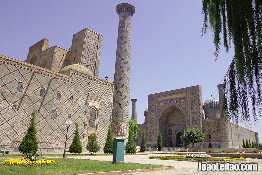 Visit Samarkand, Uzbekistan