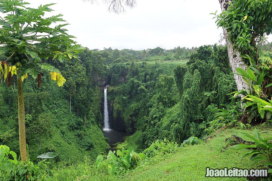 Visit Sopoaga Waterfall Samoa