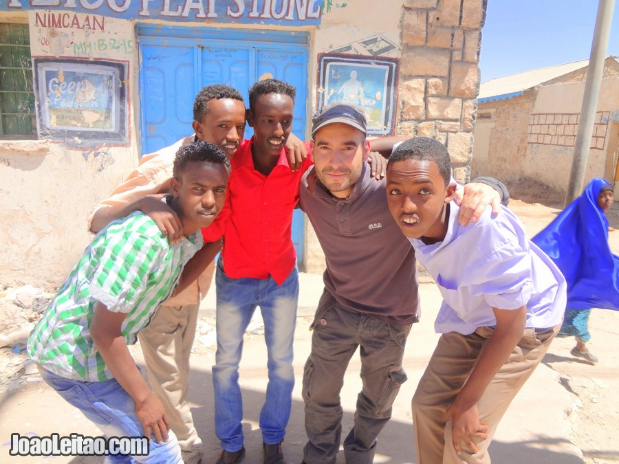 Boys from Hargeisa in Somaliland