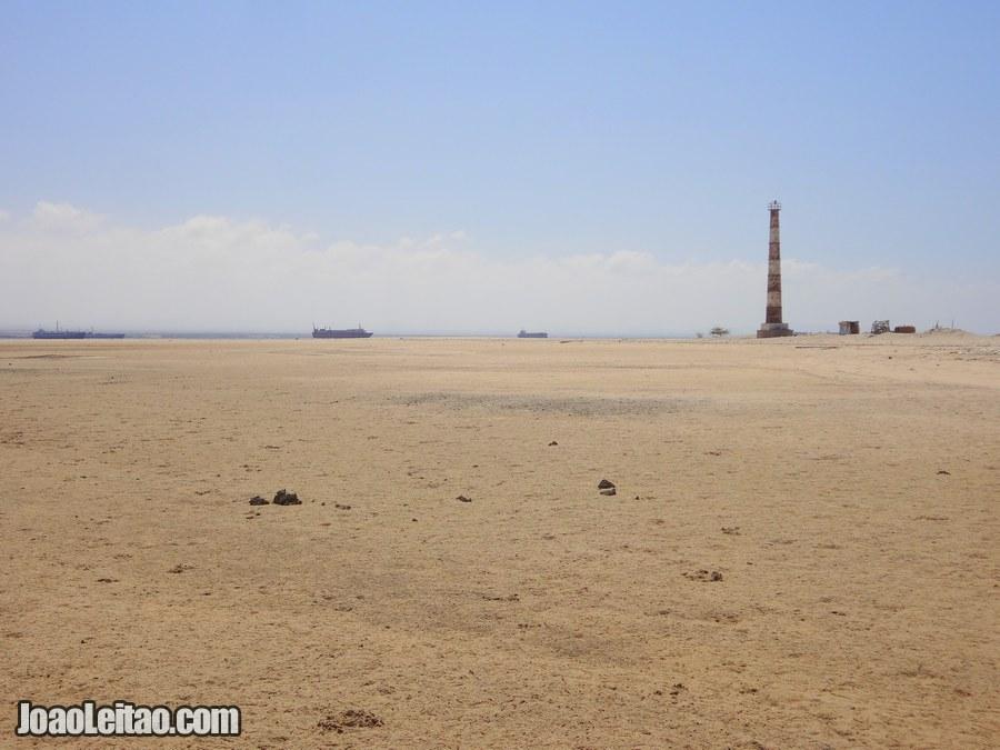 Lighthouse Beach in Berbera Somaliland
