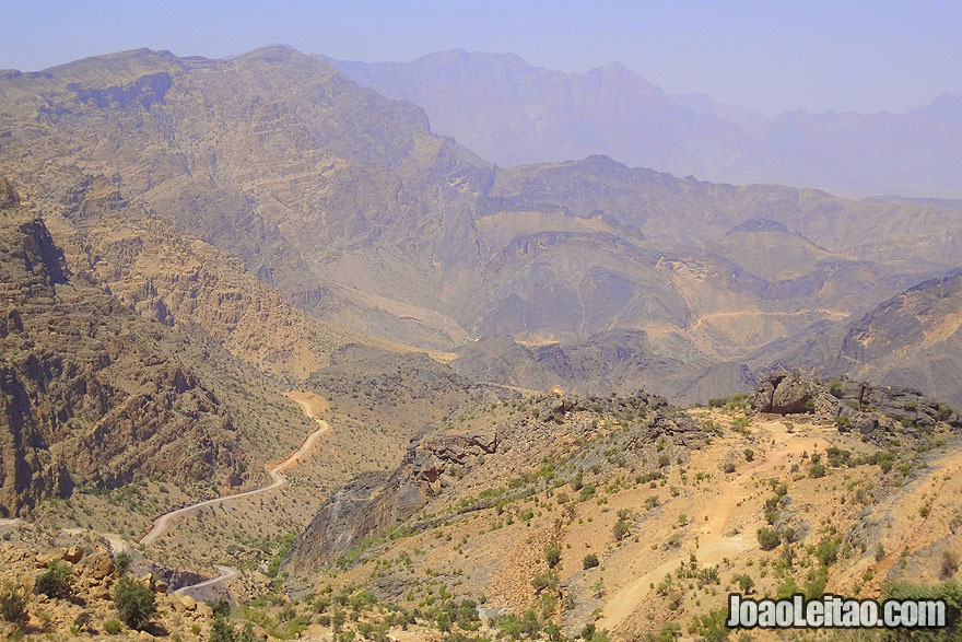 Montanha Jebel Akhdar