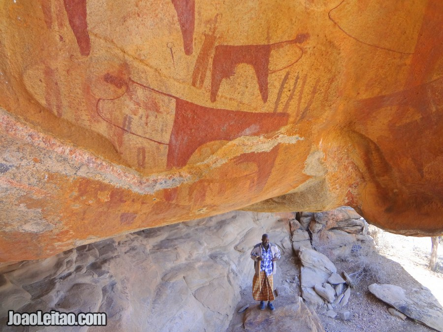 Laas Gaal Rock Paintings in Somaliland