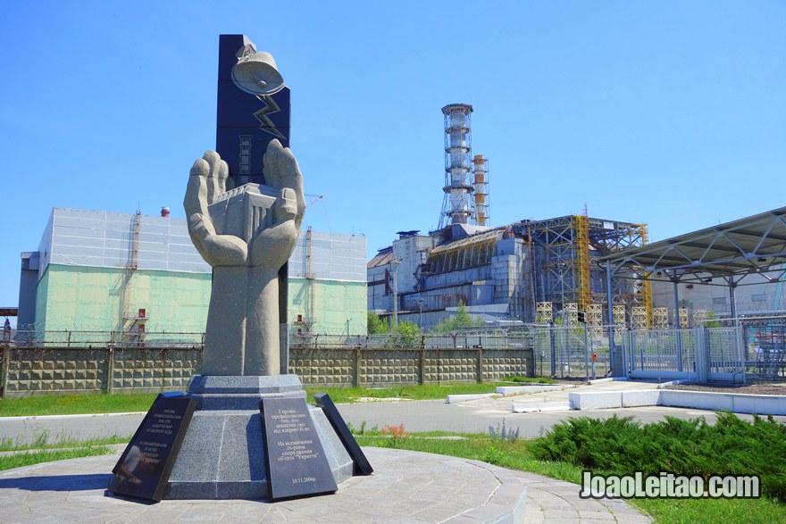 Chernobyl Reactor 4 Sarcophagus - Chernobyl Tour