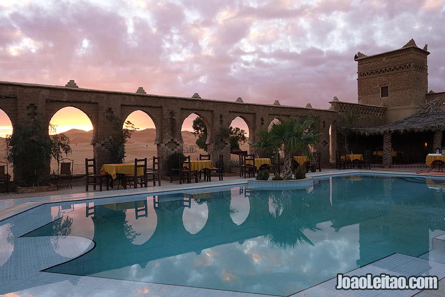 Desert Hotel in Morocco