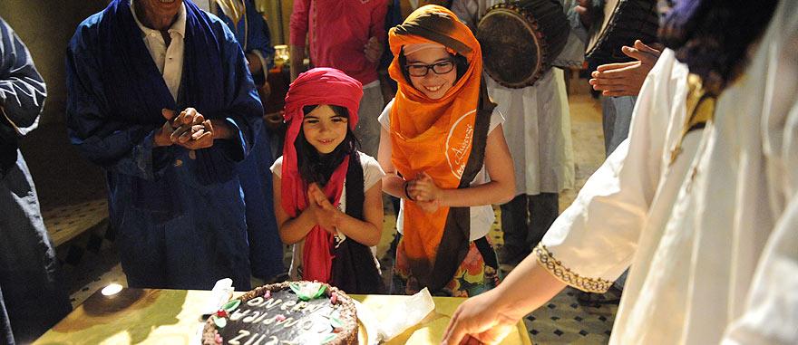 Tourist children birthday party - Mind-blowing Sahara Desert Hotel