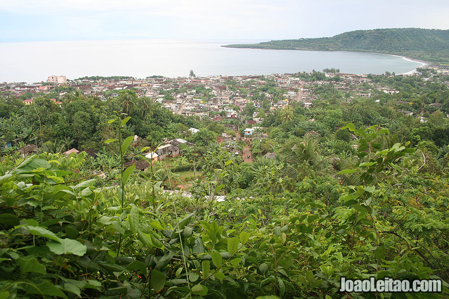Baracoa upper view