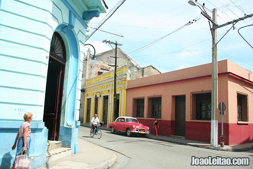 Beautiful street in Camaguey center