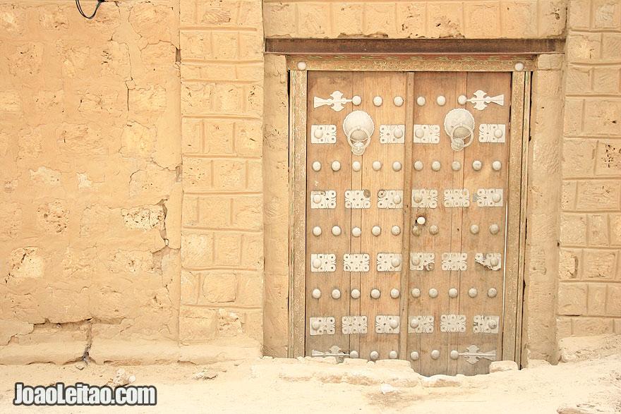 Door in Timbuktu