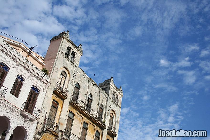 Havana Architecture and blue sky