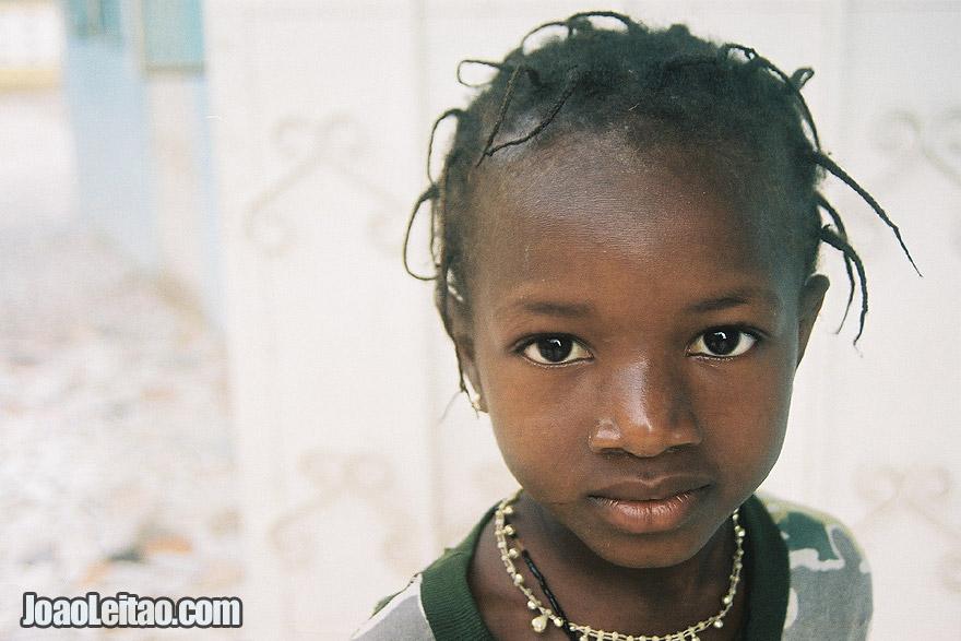 Girl in Serekunda, The Gambia West Africa