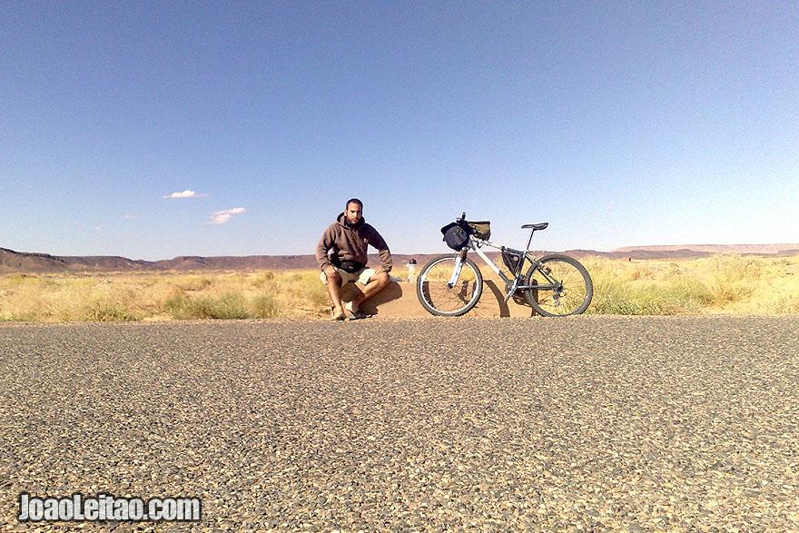 Biking Sahara Desert