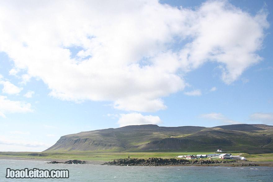 Visit Brjanslaekur Village Westfjords Region Iceland