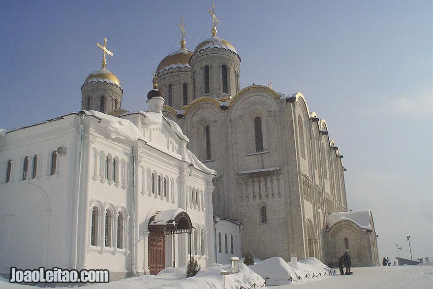 A Catedral de Dormição em Vladimir