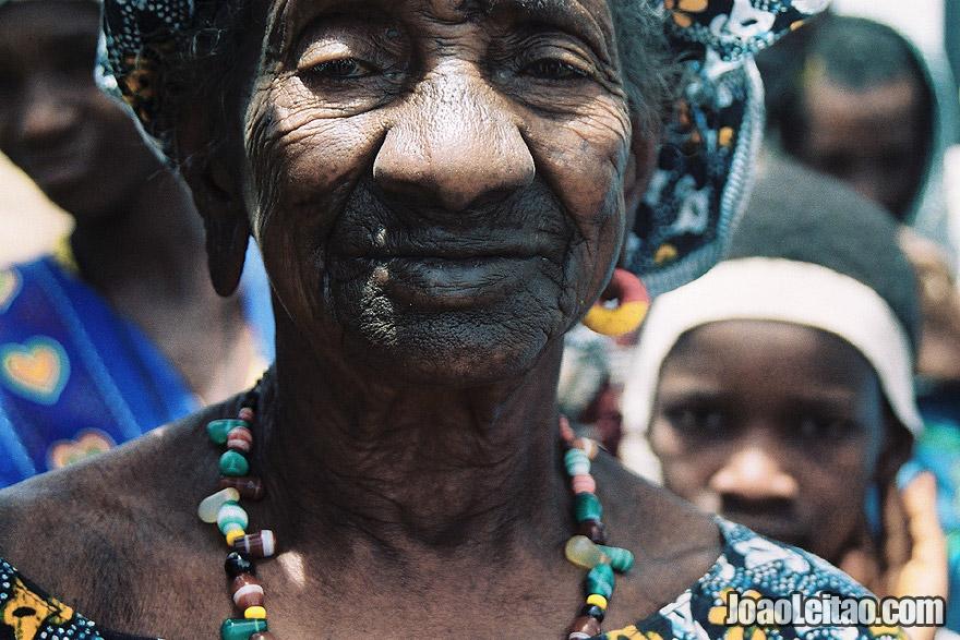 Old woman, Senegal